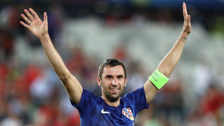 Darijo Srna is tevens Kroatisch international