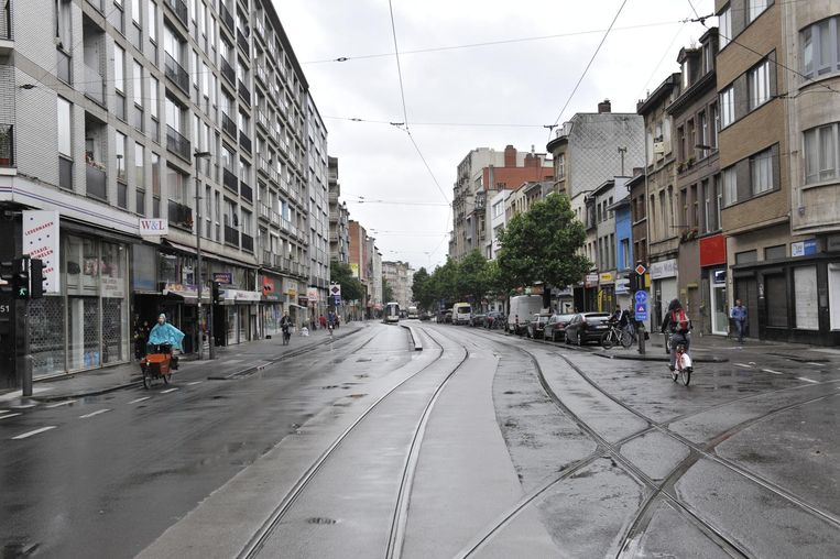 De Carnotstraat lag er compleet verlaten bij.
