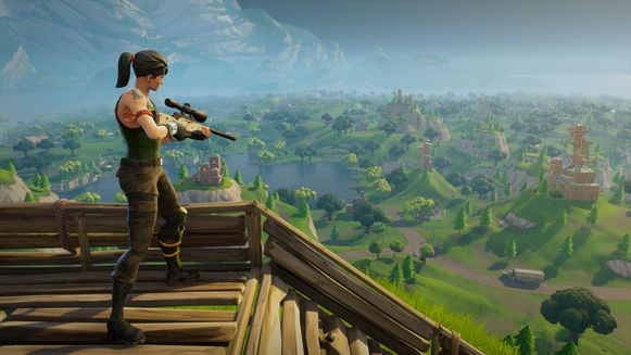 Screenshot uit Fortnite