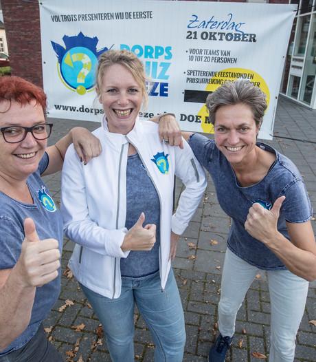 Zelfs Giel Beelen en Arnol Kox doen mee in Dorpsquiz Heeze
