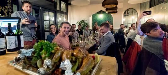 Een diner bij Yalla Yalla