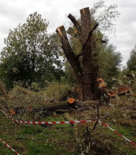 Natuurtuin in Leerdam is boos na wéér een brandje