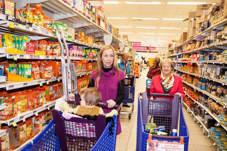 Merkproducten zijn in ons land duurder dan in de buurlanden.