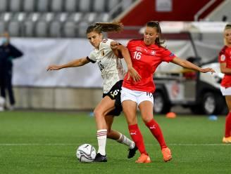 """Marie Minnaert (Red Flames) blikt vooruit op cruciaal duel met Zwitserland: """"Niet speculeren op tweede plaats"""""""