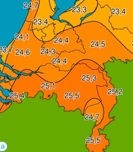 Woensdrecht één van de warmste plaatsen van het land tijdens bijzonder warme oktoberdag