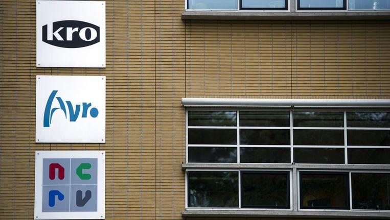 Het AKN-gebouw (AVRO, KRO en NCRV), in Hilversum. Beeld anp
