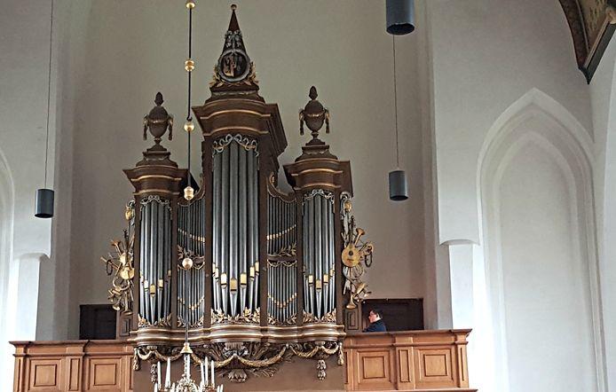 Het orgel van de Geerteskerk heeft een sprekende stemmen, vindt aanstormend talent Steven Knieriem.