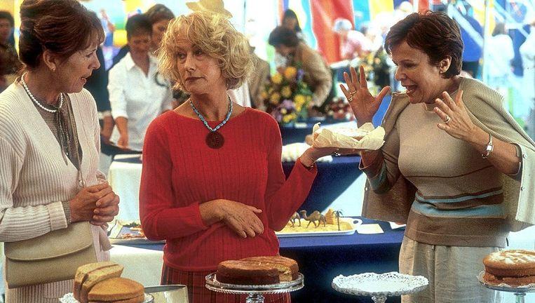 Vanaf links: Penelope Wilton, Helen Mirren en Julie Walters. Beeld null