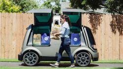 Deze robot brengt melk, broodjes en tomaten straks aan huis