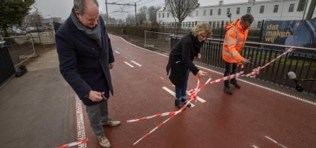 Het Helmondse deel van het snelfietspad  Eindhoven-Helmond is klaar; eind 2021 de rest ook