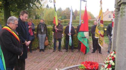 Meer dan 500 mensen wonen herdenking wapenstilstand bij