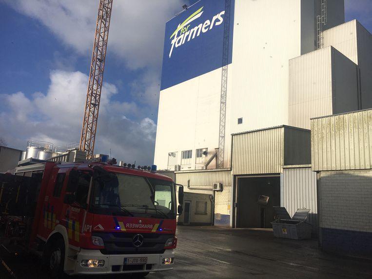 De brandweer van Izegem en Ingelmunster snelde ter plaatse.