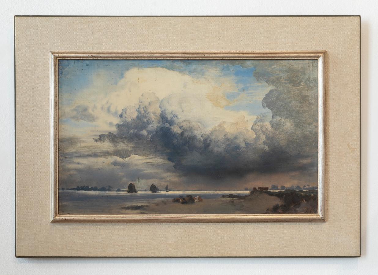 Hét pronkstuk van het Voerman Museum in Hattem: een IJsselgezicht van Jan Voerman sr.