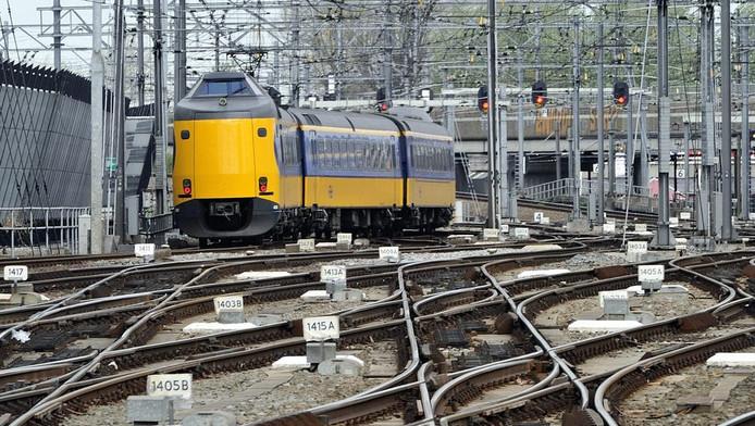 Trein bij Utrecht Centraal