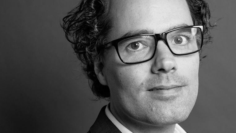 SP-lijsttrekker Laurens Ivens. Beeld Mats van Soolingen