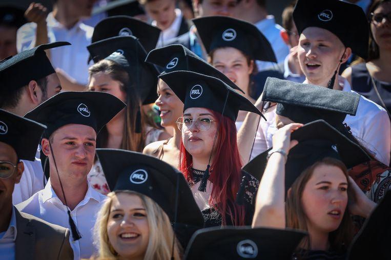 Proclamatie PXL studenten in de Kinepolis van Hasselt