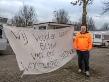 Zwolse woonwagenbewoners moeten weg, maar Andries peinst er niet over: 'Politie? Ik blijf waar ik zit'