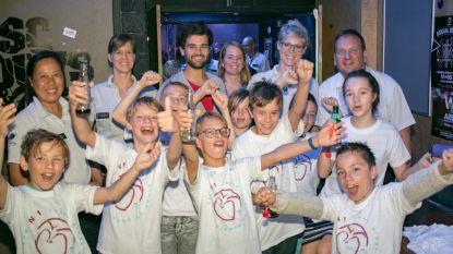 Jongeren sluiten Mega-project af met fuif