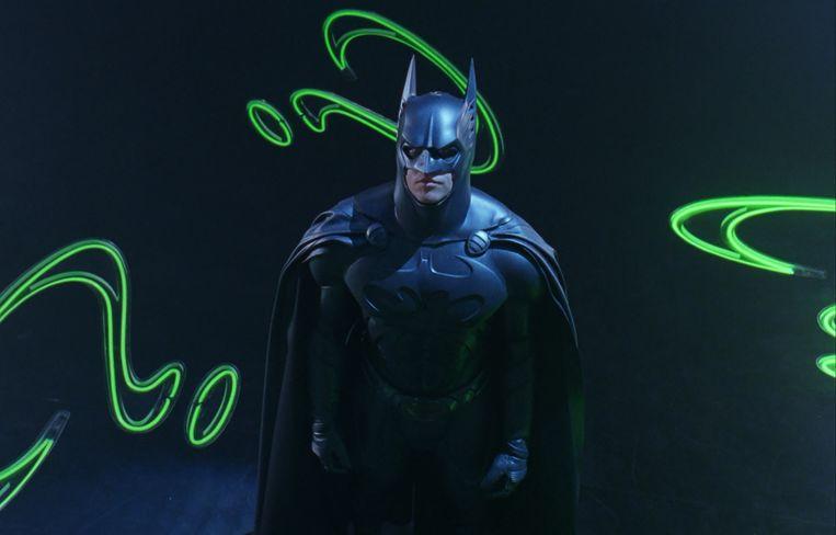 Val Kilmer in 'Batman Forever'.
