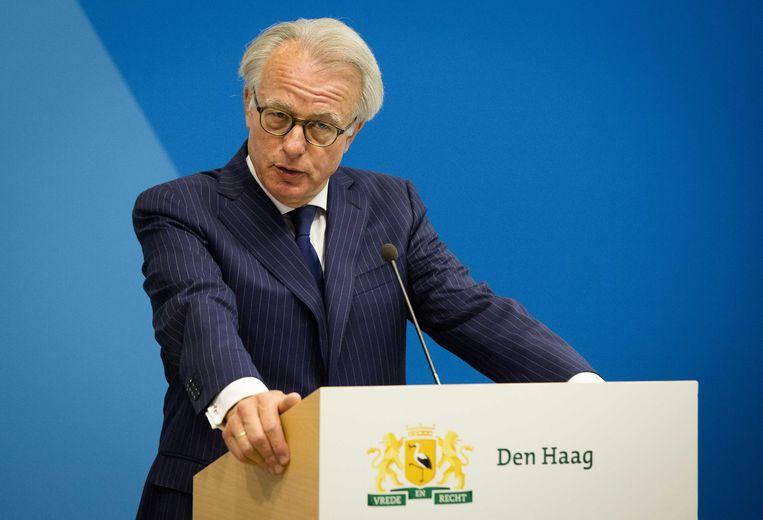 De Haagse burgemeester Jozias van Aartsen. Beeld epa