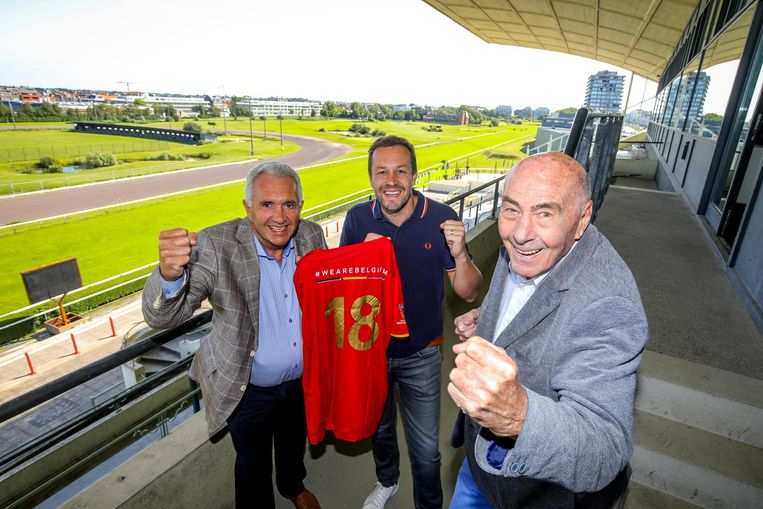 Patrick, Olivier en Richard Orlans.