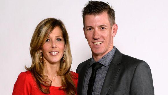 Filip Meirhaeghe en zijn vrouw Kelly