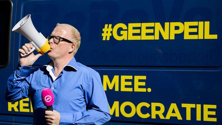 Jan Roos van GeenPeil. Beeld anp