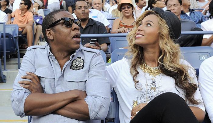 Jay-Z en zijn vrouw Beyoncé.