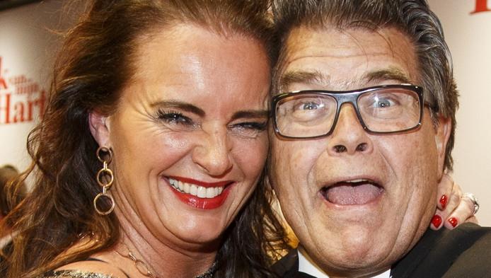 Emile met zijn vriendin Gitta.