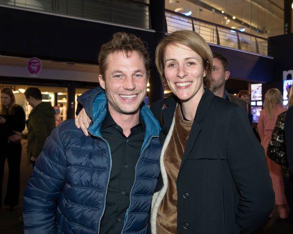 Mathias Coppens en vriendin Sarah.