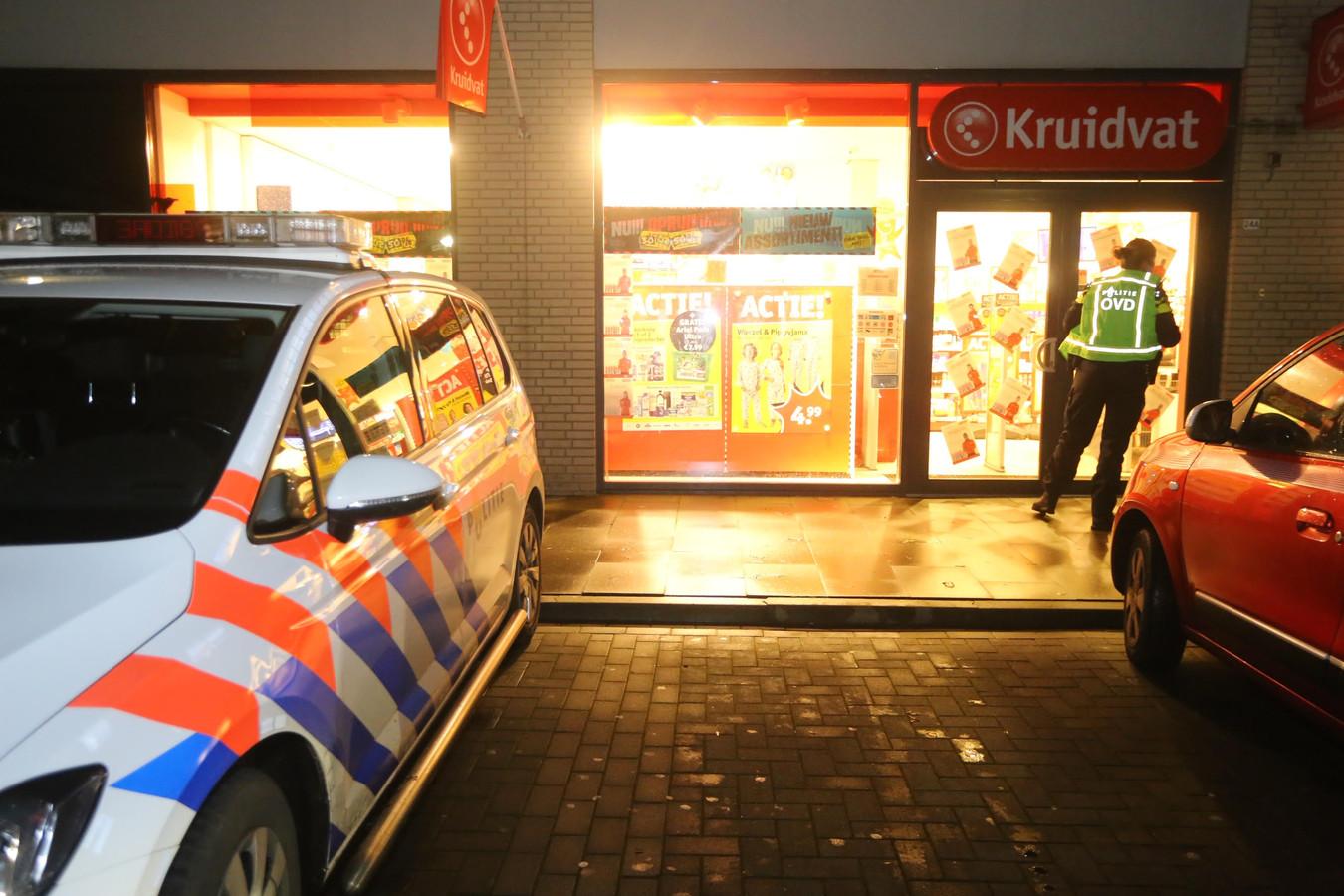 De Kruidvat in Rosmalen werd in januari overvallen.