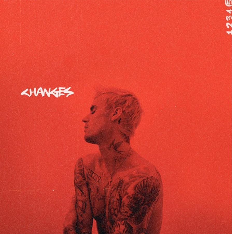 Illustration de la pochette du nouvel album de Justin Bieber, qui est sorti ce vendredi 14 février.