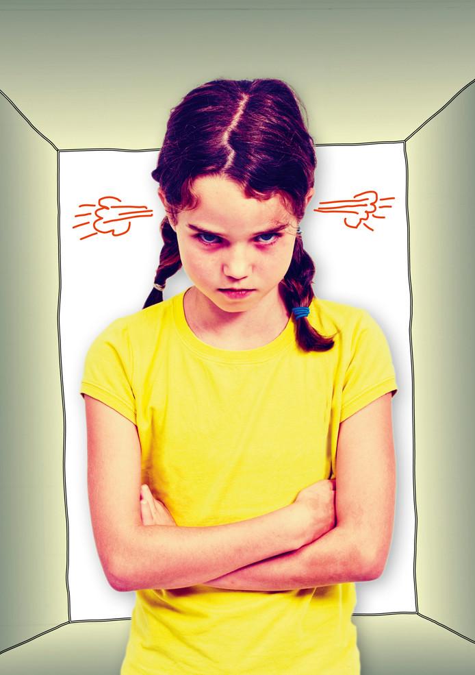 Affiche van de voorstelling 'Rooie Kop' van Hetpaarddatvliegt.