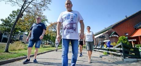 Henk uit Haaksbergen wandelde vele kilometers met kwetsbaren: 'Dat was een dankbare taak'