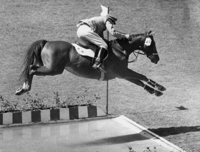D'Inzeo tijdens zijn gouden rit op de Spelen van 1960.