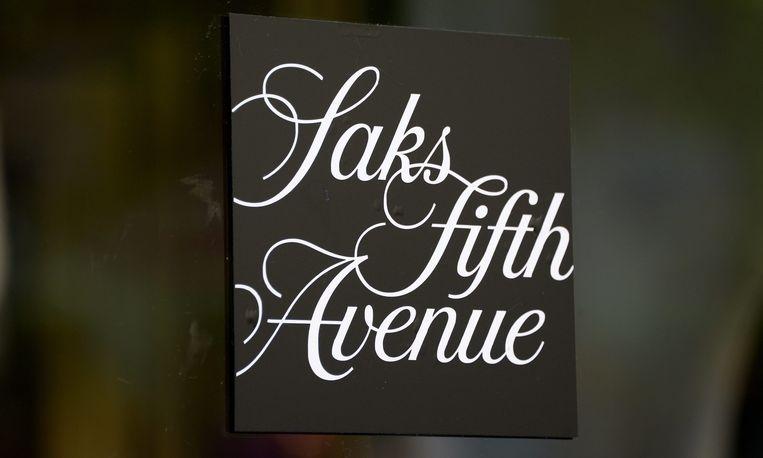 Saks Fifth Avenue, winkelketen van Hudson's Bay. Beeld epa