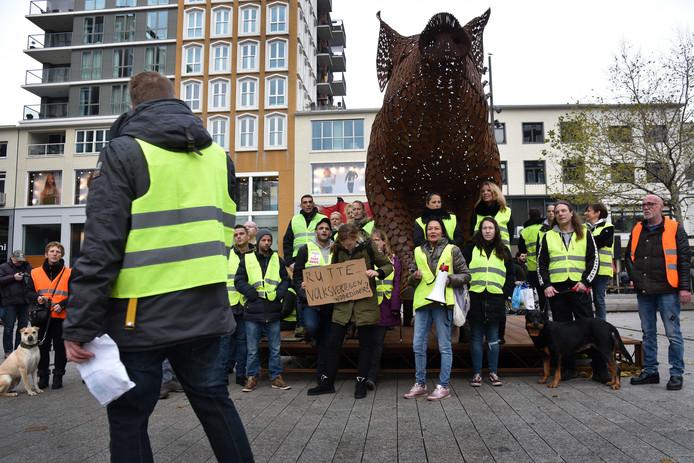 Een eerdere demonstratie in Nijmegen.