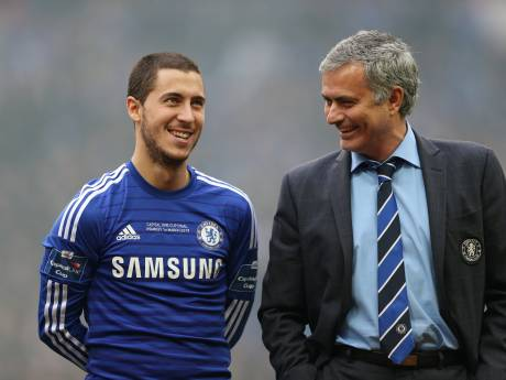 Eden Hazard dans le onze idéal de Mourinho