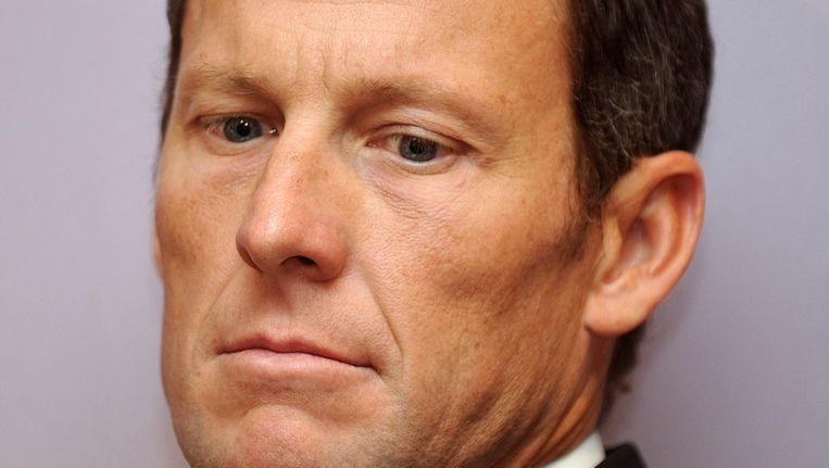 Lance Armstrong. Beeld afp