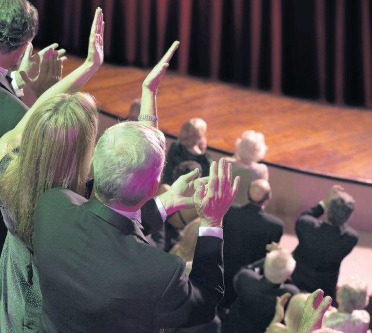 'Het bonuseffect van het publiek dat niet alleen applaudisseert, maar zelfs een staande ovatie geeft, is verdwenen.' Beeld HH