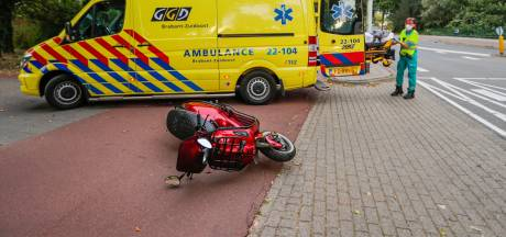 Scooterrijder gewond bij aanrijding in Eindhoven