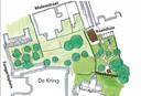 In de tuin tussen de Kring, het Tongerlohuys en de Molenstraat  komt een baan om een testrondje op de fiets te maken.  Ontwerp Schaap en Sturm Architecten