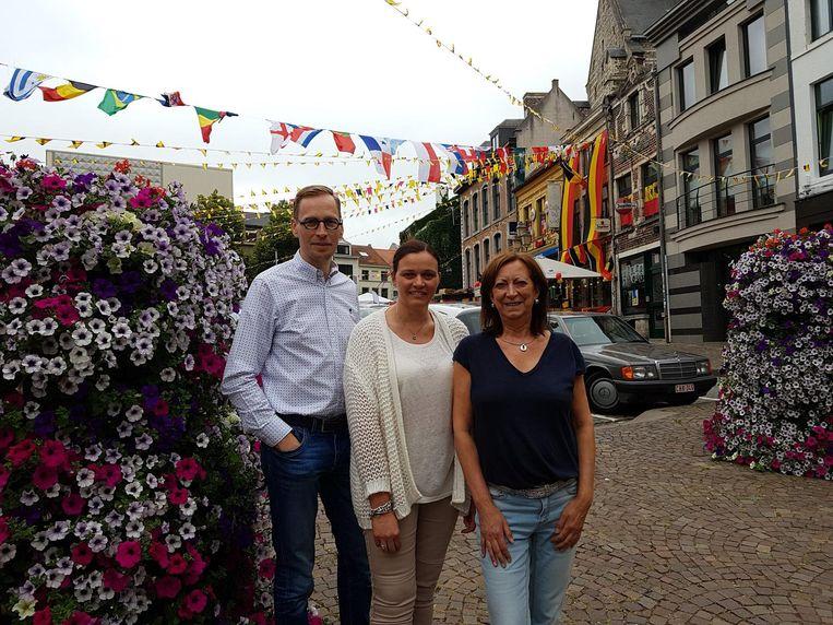 Marleen van Huysecom, Carina van Cacao en Bart van De Gouden Schaar.