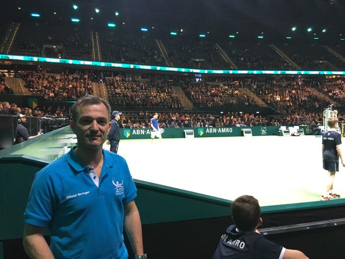 Dimitri Kaijser was als Pro Tour Stringer ook actief op de afgelopen twee edities van het ABN Amro toernooi in Rotterdam