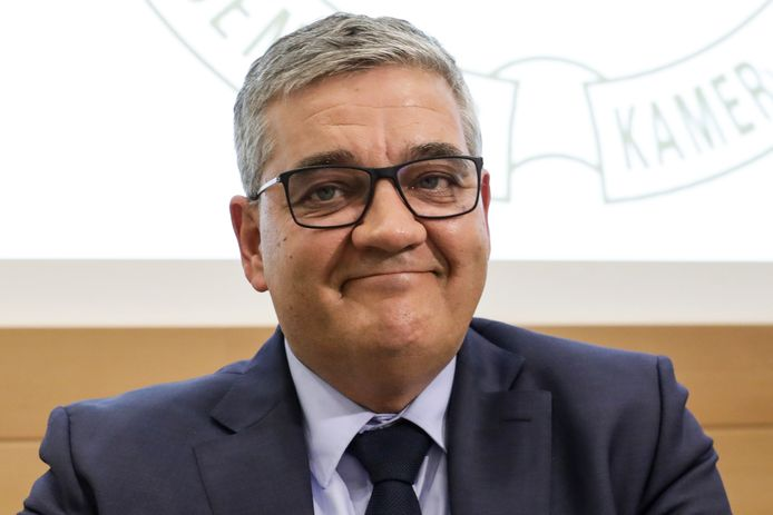 Burgemeester Steven Vandeput.