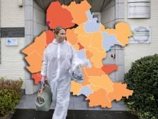 KAART | Urk blijft landelijk veruit grootste zorgenkindje, ondanks lichte verbetering in coronacijfers