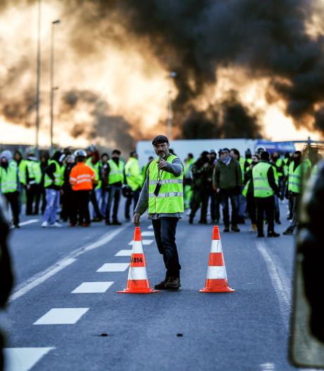 Protesten in Frankrijk houden aan