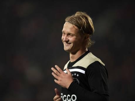 Dolberg tekent nieuw contract bij Ajax