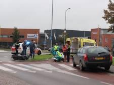 Scooterrijdster gewond bij aanrijding in Barneveld