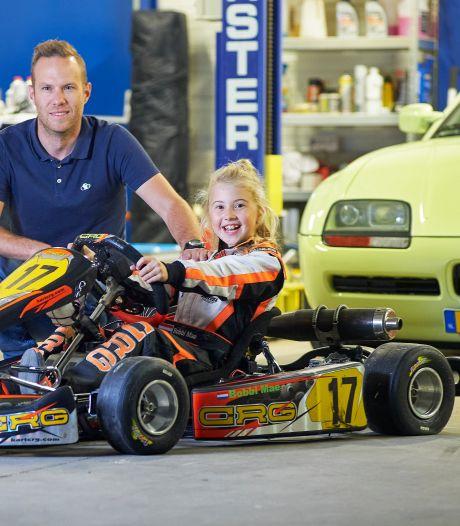 Kartmeisje Bobbi (9): 'Het gaat er niet om of je jongen of meisje bent, maar hoe goed je kunt racen'
